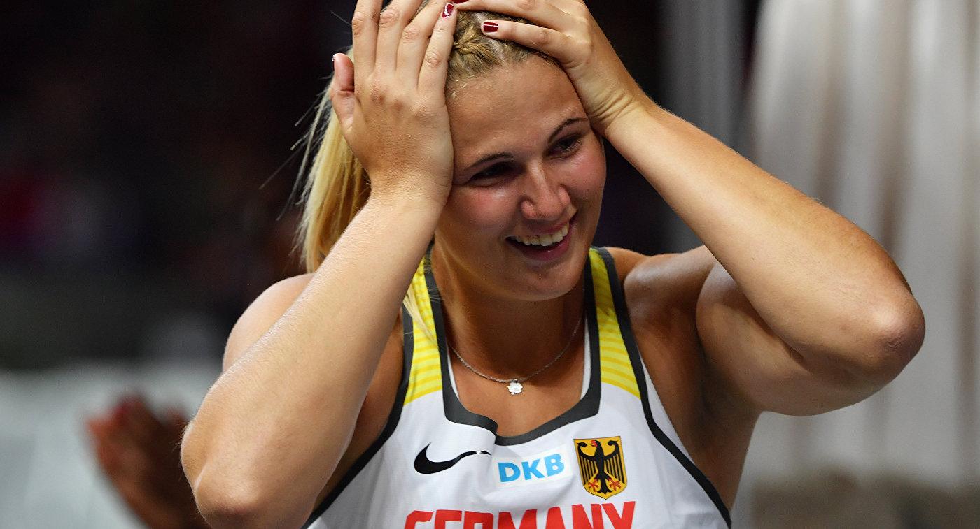 Немецкая легкоатлетка Кристин Хуссонг