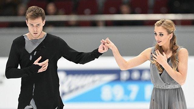 Виктория Синицина (справа) и Никита Кацалапов