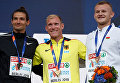 Илья Шкуренев (слева) с серебряной медалью чемпионата Европы по легкой атлетике в Берлине
