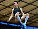 Российский прыгун с шестом Тимур Моргунов
