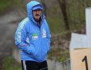 Старший тренер женской сборной России по биатлону Александр Селифонов