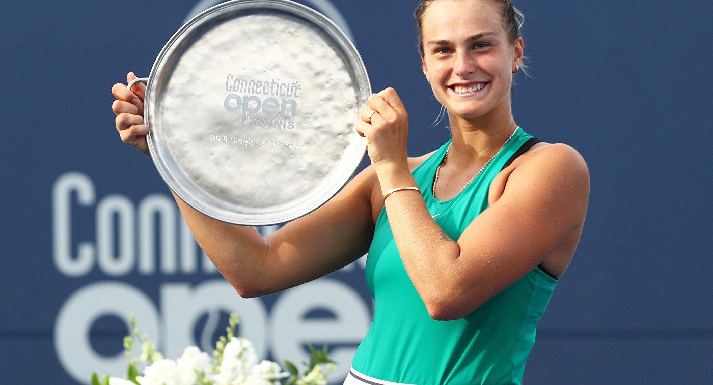 Белорусская теннисистка Арина Соболенко стала 11-й ракеткой мира