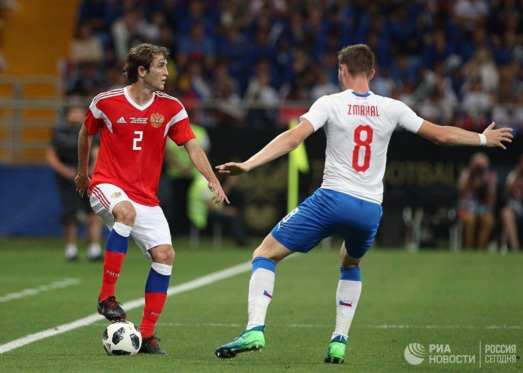 Слева направо: Марио Фернандес (Россия) и Яромир Змрхаль (Чехия)
