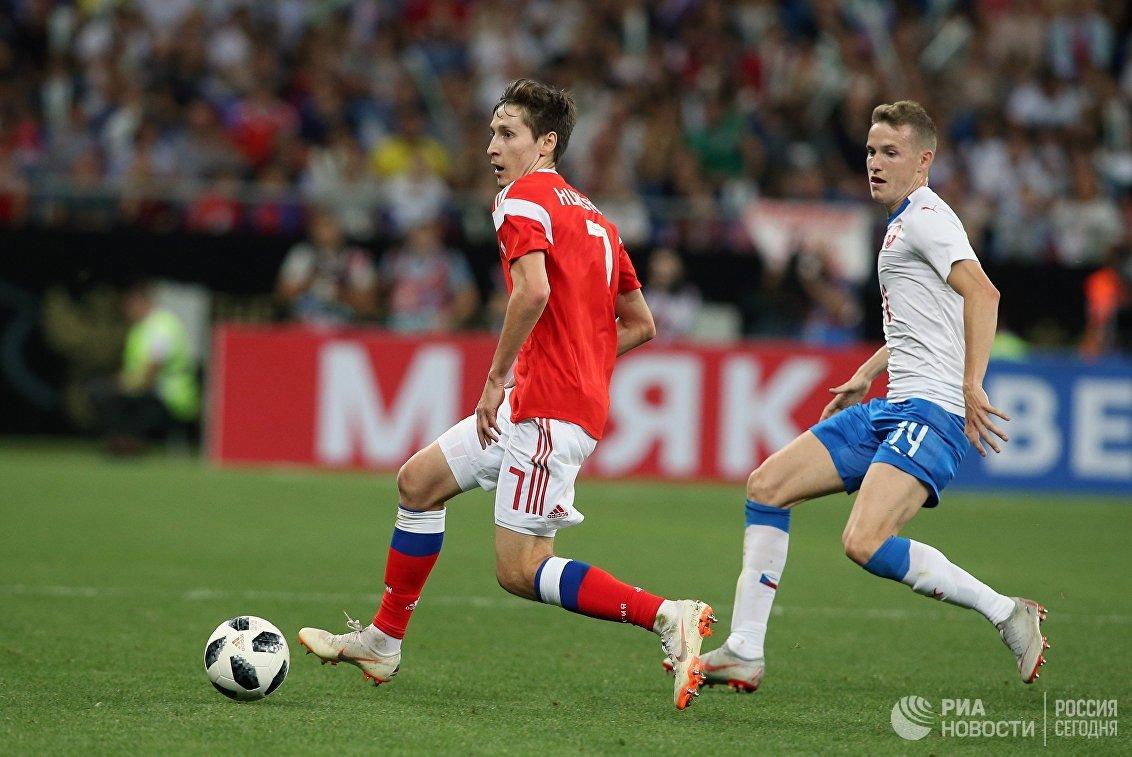Слева направо: Далер Кузяев (Россия) и Якуб Янкто (Чехия)