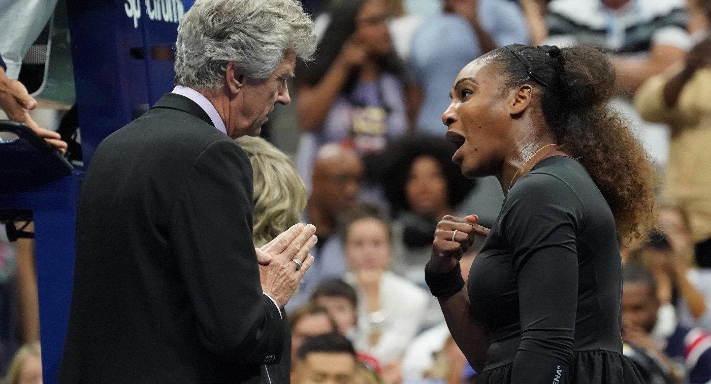 Серена Уильямс в финале US Open зашла слишком далеко, считает Федерер