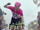 Канадский велогонщик Майкл Вудс