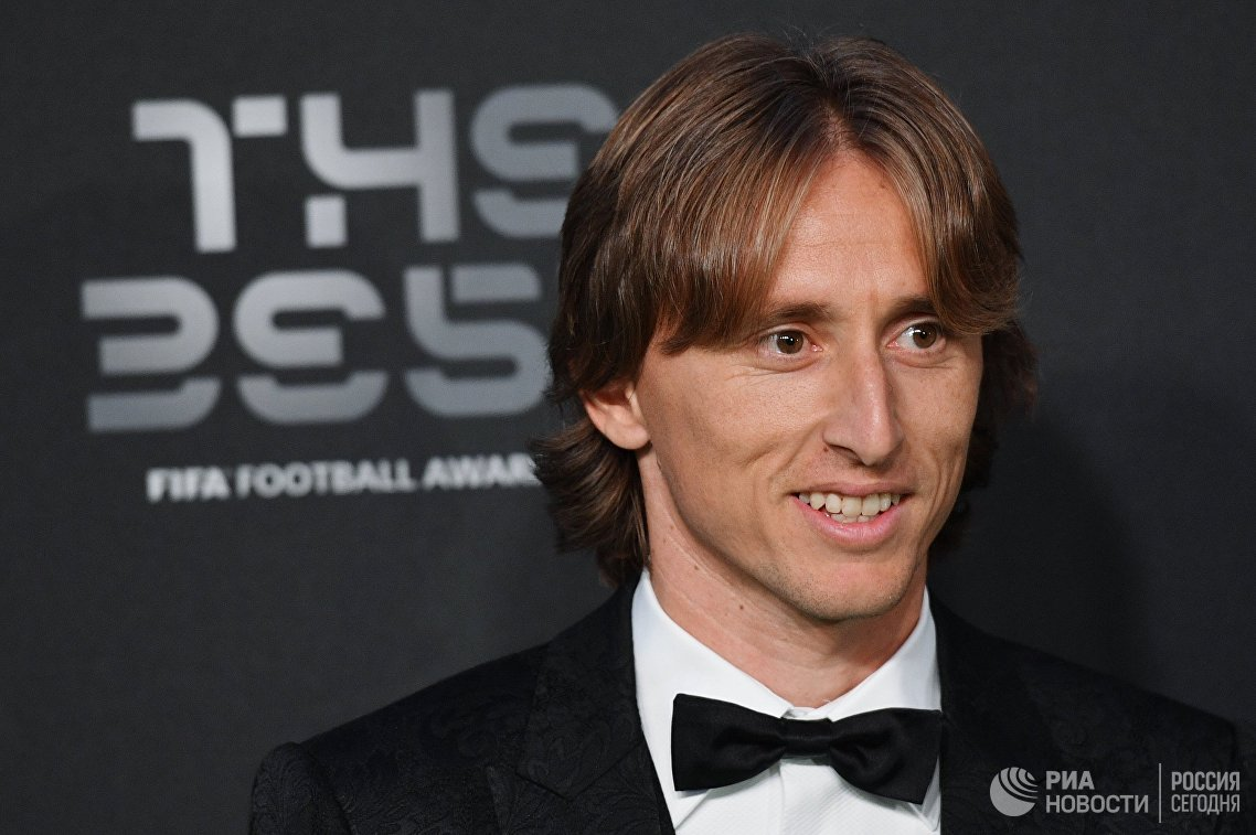 Модрич признан лучшим игроком года по версии Goal