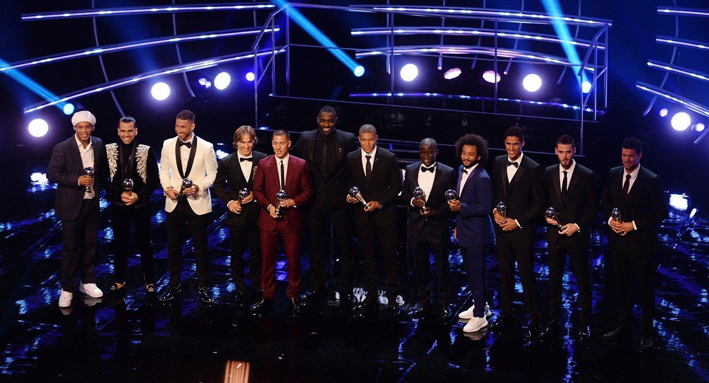 Игроки символической команды года FIFAPro World 11