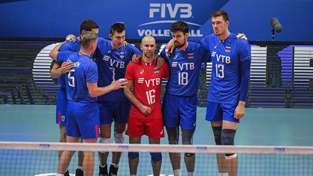 Волейболисты сборной России остались без медалей чемпионата мира-2018