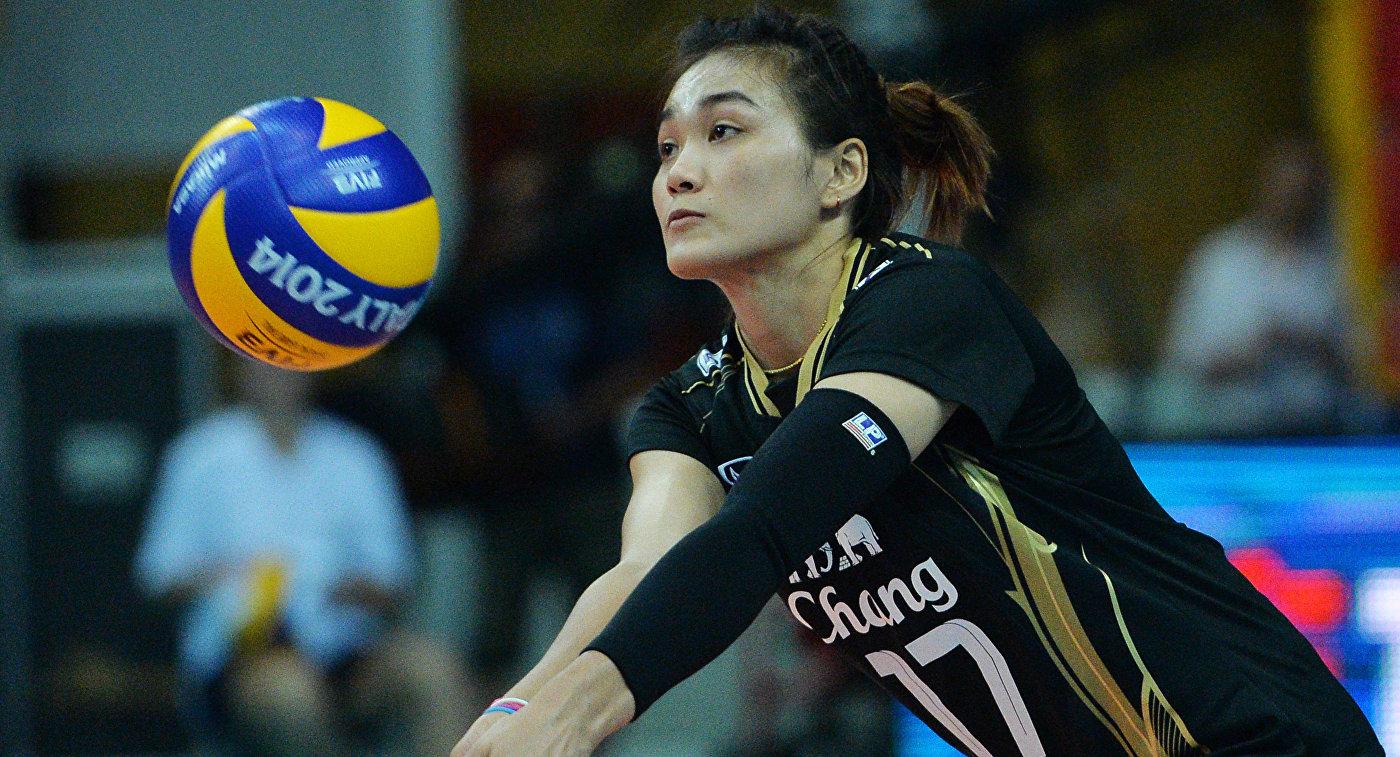 Волейболистки сборной Таиланда обыграли команду Азербайджана в матче ЧМ