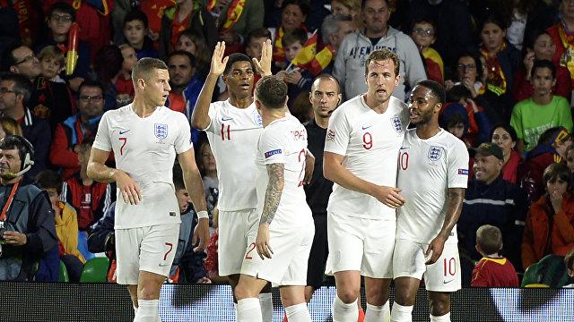 Игроки сборной Англии по футболу