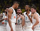 Баскетболисты мадридского Реала