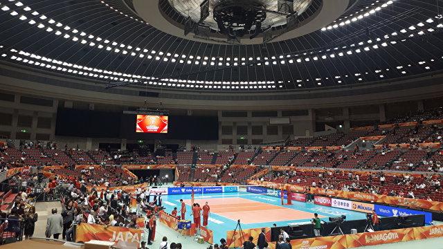 Арена чемпионата мира по волейболу в Японии