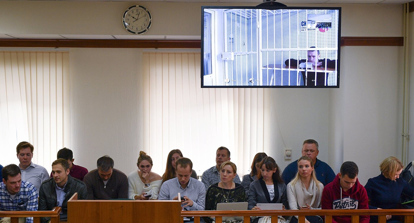 Рассмотрение  апелляции на арест П. Мамаева