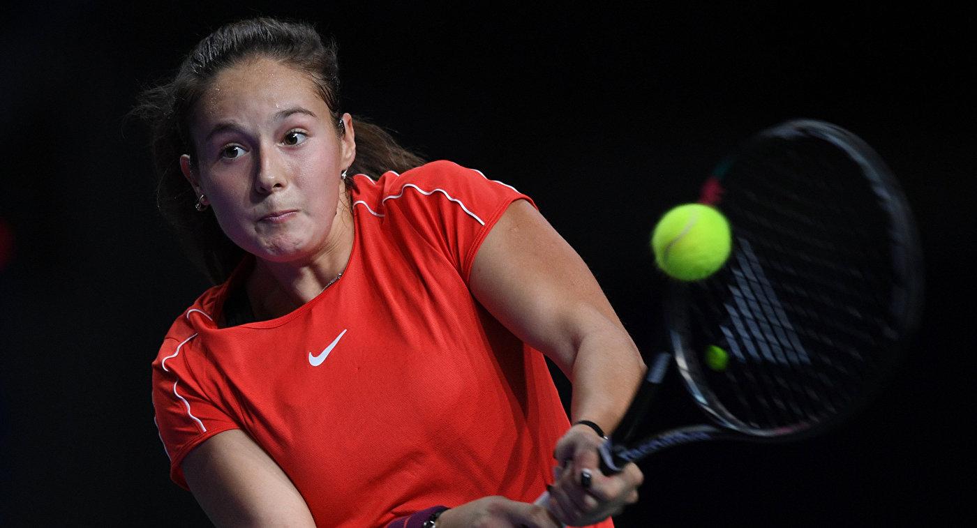 Дарья Касаткина в финальном матче ВТБ Кубка Кремля