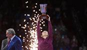 Дарья Касаткина на церемонии награждения ВТБ Кубка Кремля