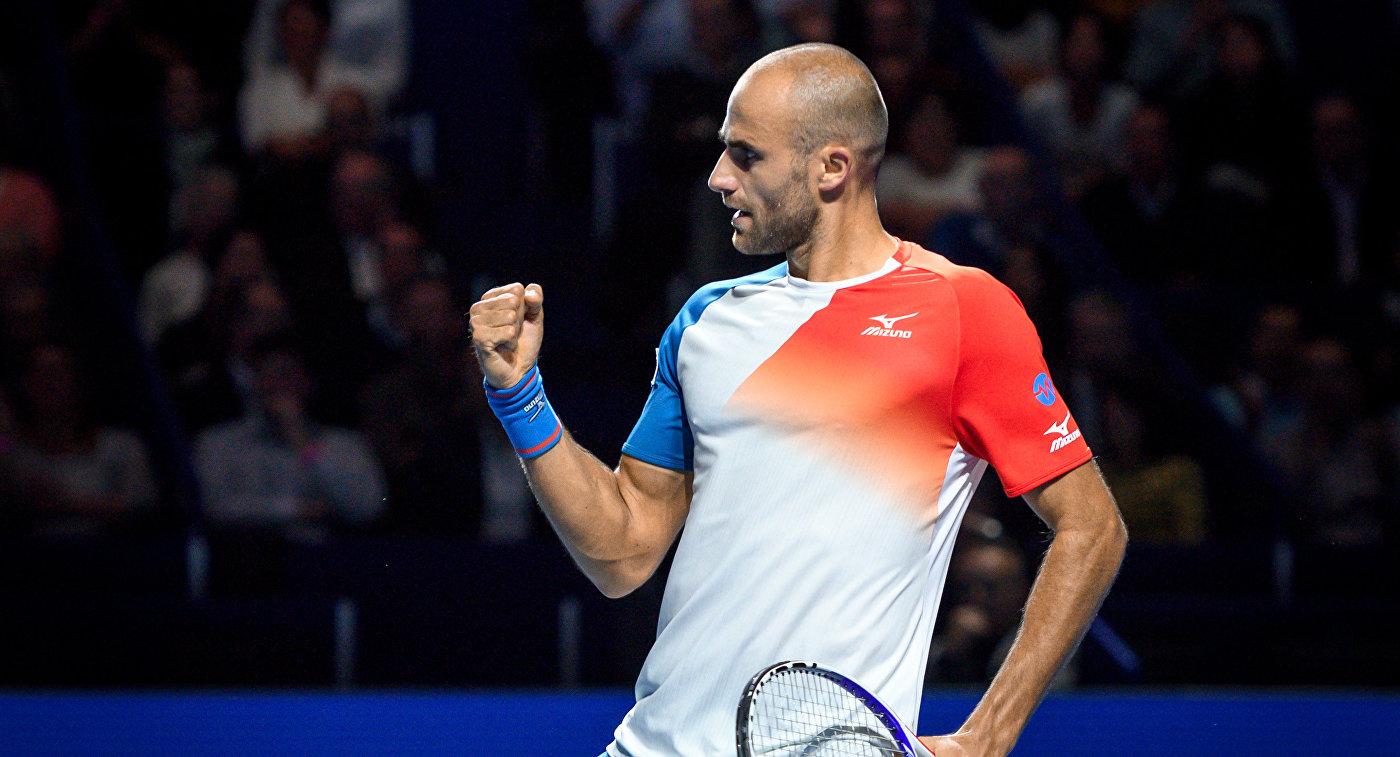 Копил вышел в финал турнира в Базеле, обыграв Зверева