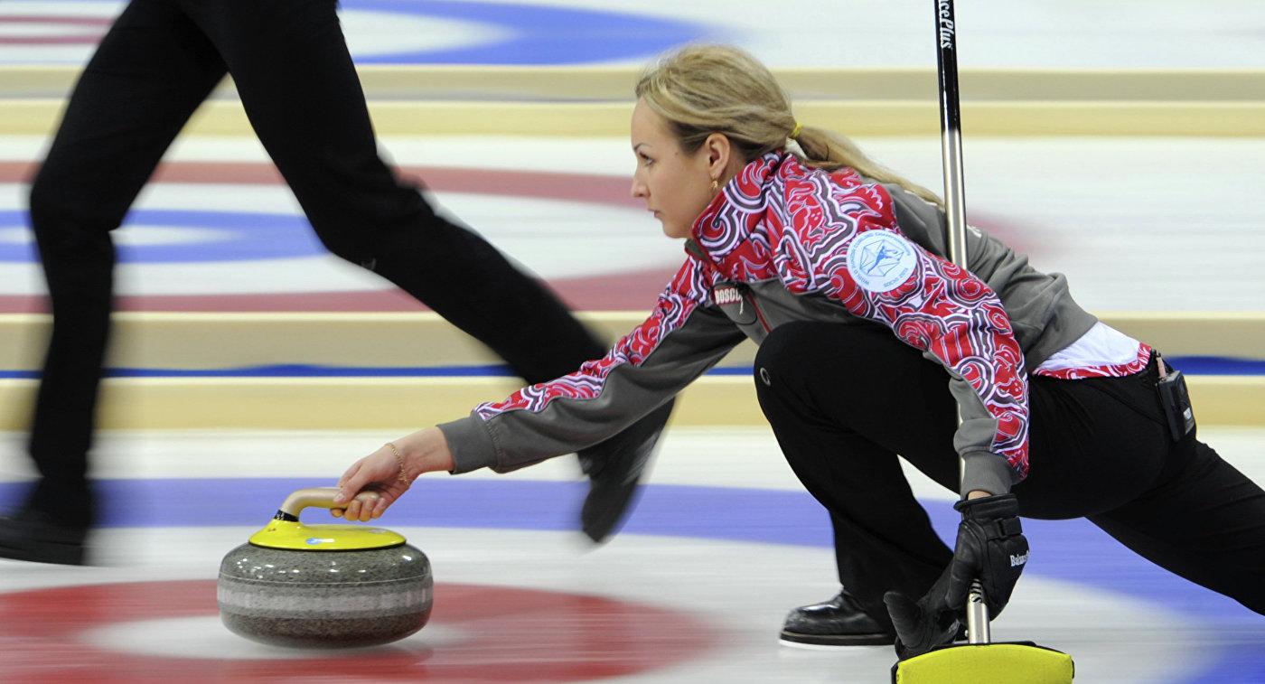 Керлингистки сборной России победили Германию на старте чемпионате Европы