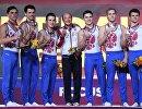 Российские гимнасты