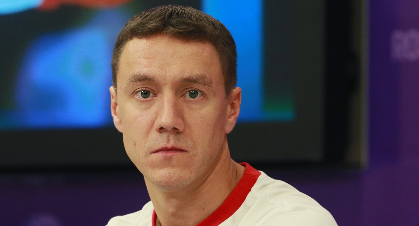 Олимпийский чемпион по спортивной гимнастике Николай Крюков