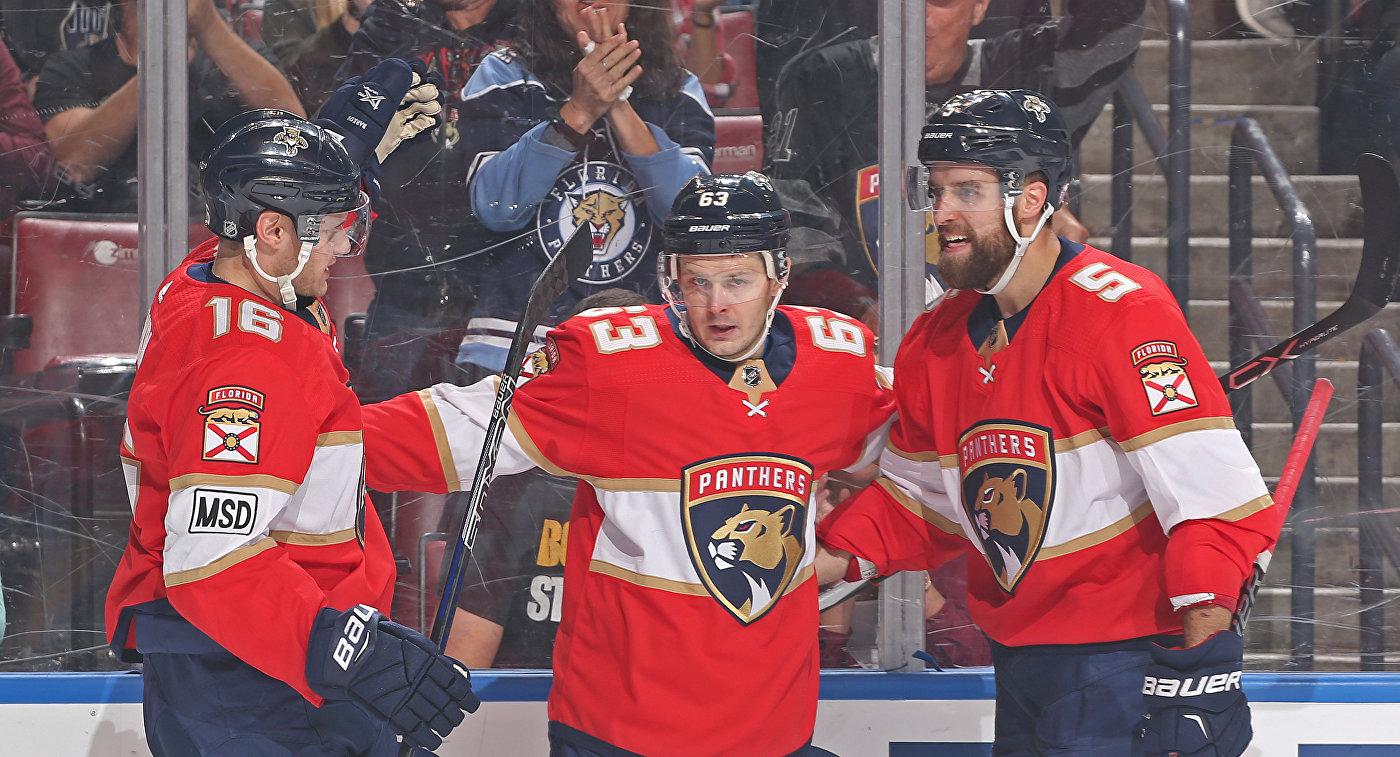НХЛ. Гол Дадонова неспас «Флориду» отпоражения вматче с«Виннипегом»