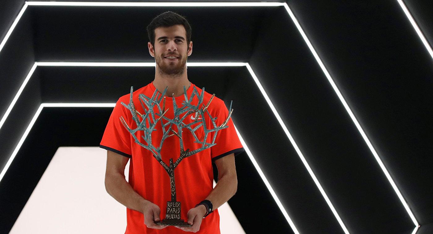Хачанов поднялся на 11-е место в рейтинге АТР после победы в Париже