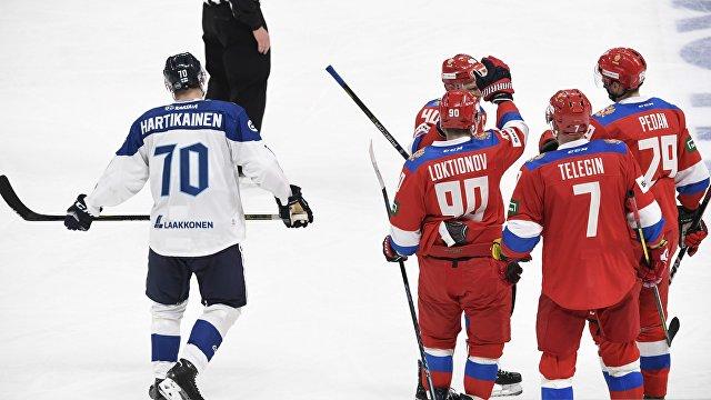 В финском стиле: сборная России по хоккею открыла сезон уверенной победой