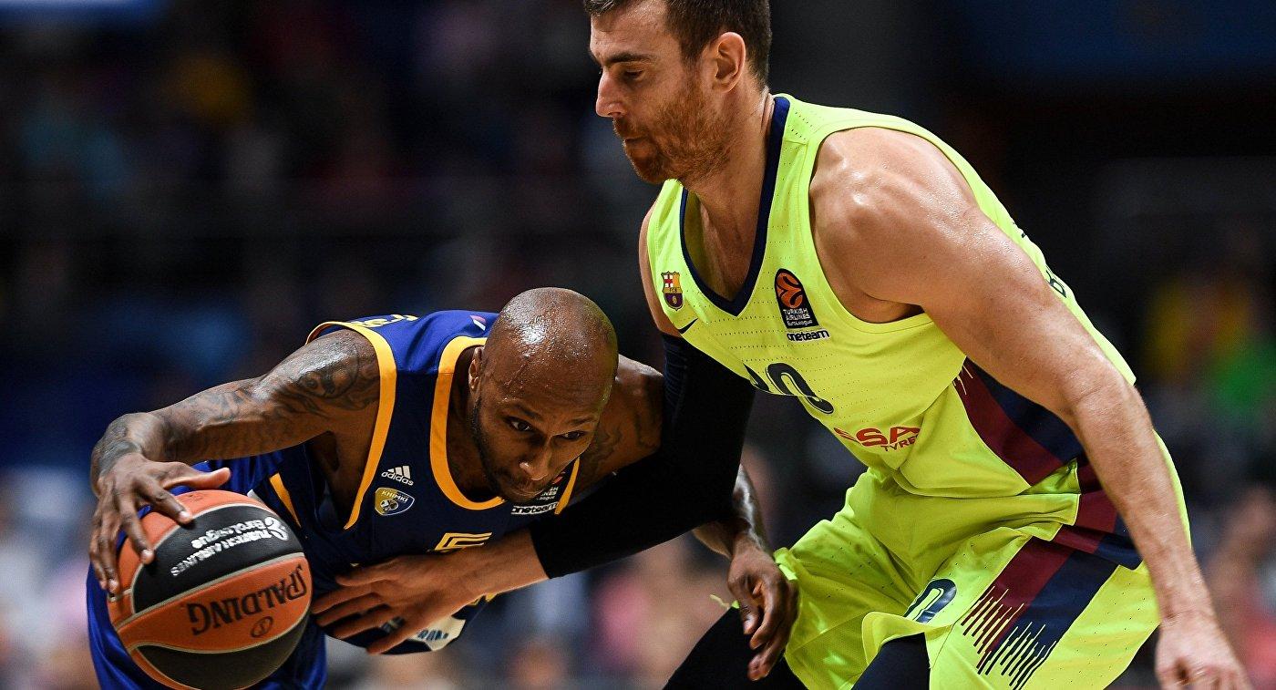 Баскетбол. Евролига. Матч Химки -Барселона