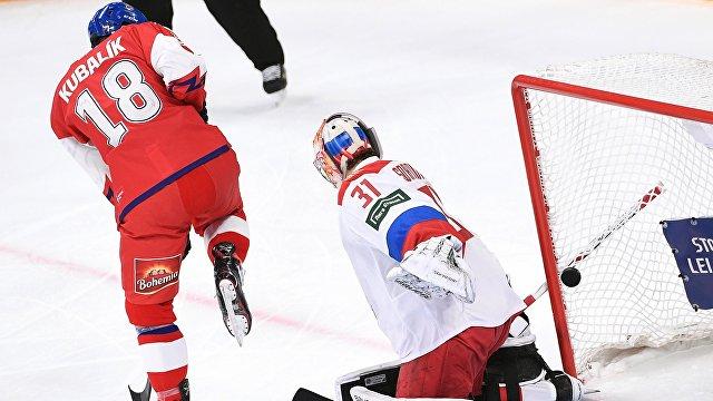"""Ржига """"разбил"""" Воробьева: российские хоккеисты уступили чехам на Кубке Карьяла"""