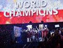 Церемония награждения победителей чемпионата мира по волейболу среди мужчин