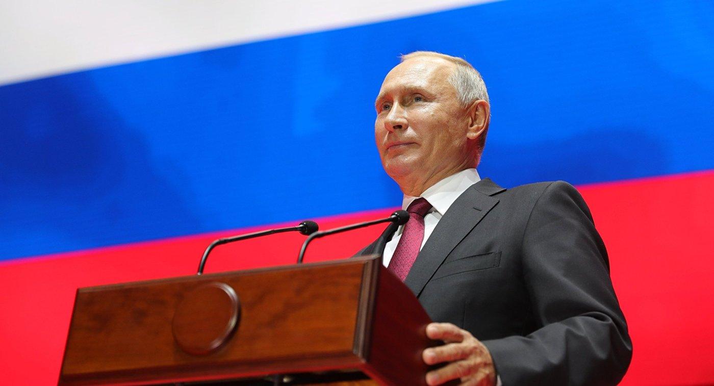 Путин направил поздравление в честь 80-летия самбо в России