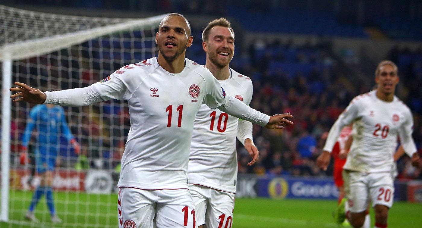 Лига наций. Уэльс проиграл Дании, Словакия разгромила государство Украину