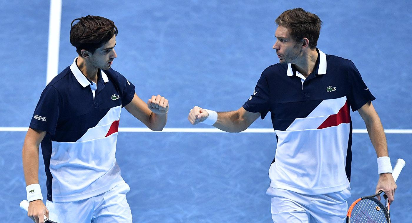Эрбер/Маю вышли в финал итогового турнира ATP в парном разряде