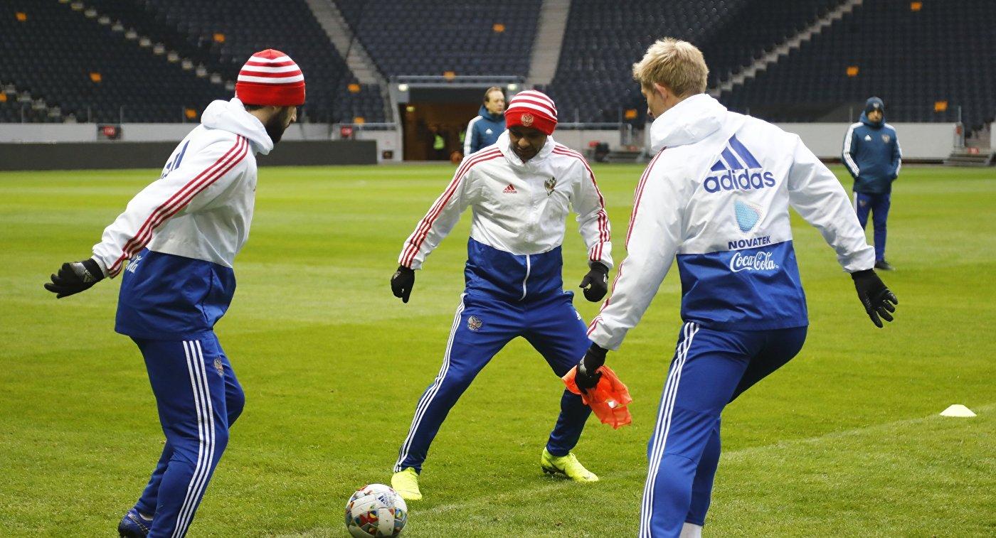 Сборные Швеции и России поспорят за выход в элитный дивизион Лиги наций