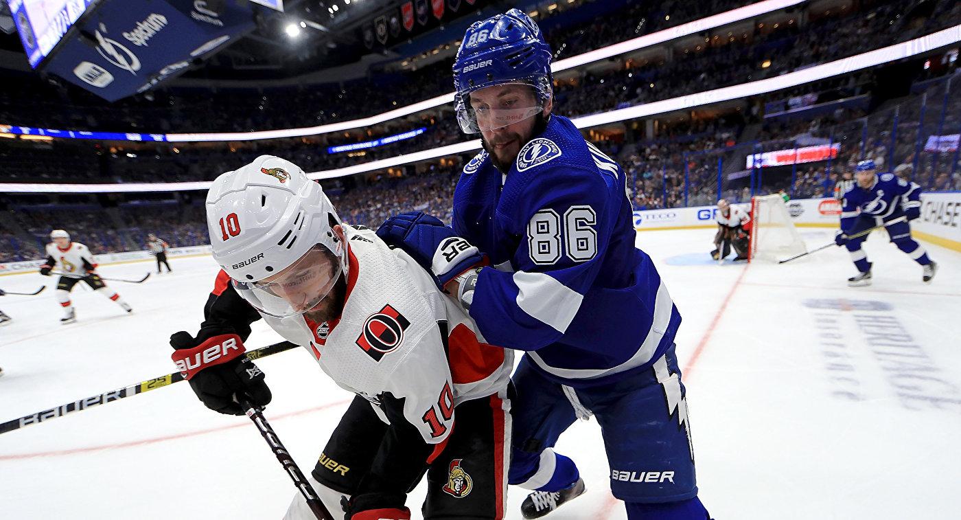 """Гол и две передачи Кучерова помогли """"Тампе"""" победить """"Флориду"""" в матче НХЛ"""