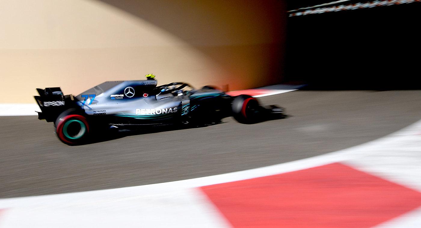 "Боттас выиграл вторую практику Гран-при Абу-Даби ""Формулы-1"""