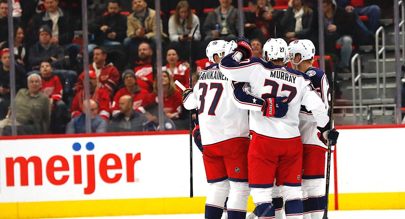 """""""Коламбус"""" обыграл """"Детройт"""" в НХЛ, Панарин набрал три очка"""