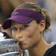 Саманта Стосур победила в финале Открытого чемпионата США по теннису