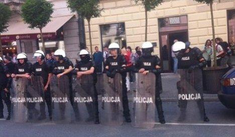 Полиция в Варшаве
