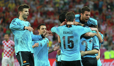 Беспроигрышная серия сборной испании мини- футбол