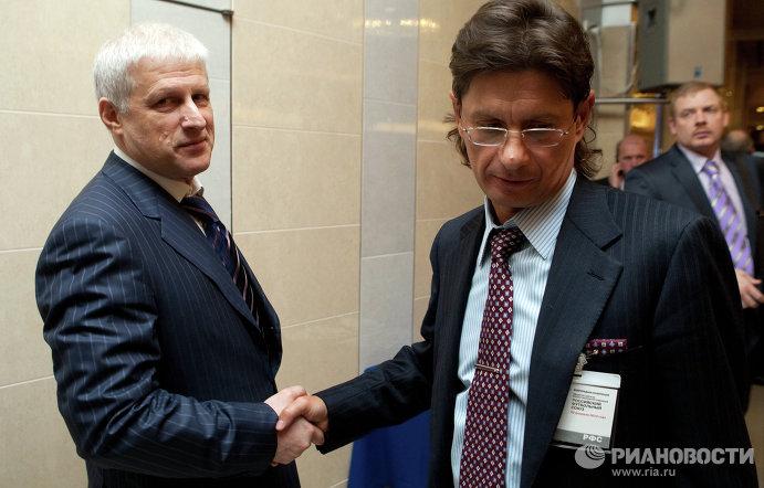 Сергей Фурсенко и Леонид Федун