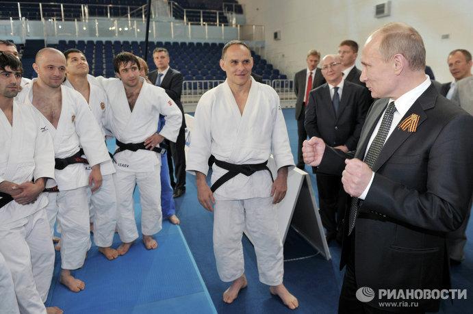 Президент РФ Владимир Путин посещает Академию дзюдо в Звенигороде