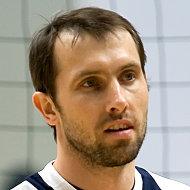 Капитан российской сборной по волейболу Сергей Тетюхин