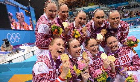 ОИ - 2012. Синхронное плавание. Командные соревнования. Финал