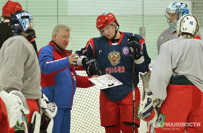 Владимир Мышкин (слева) и Андрей Василевский