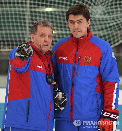 Михаил Варнаков (слева) и Игорь Никитин