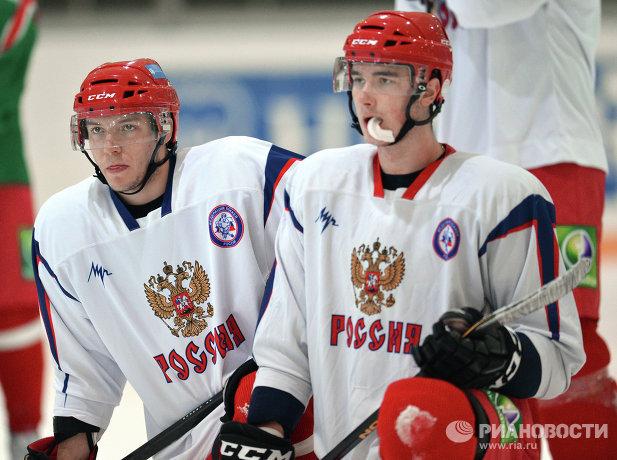 Артем Сергеев (слева) и Даниил Жарков