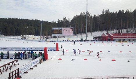 Соревнования Кубок Тюмени по лыжным гонкам