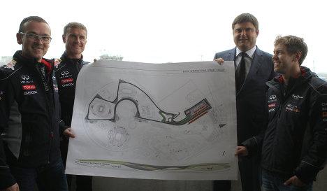 Визит чемпиона мира Формулы-1 Себастьяна Феттеля в Сочи