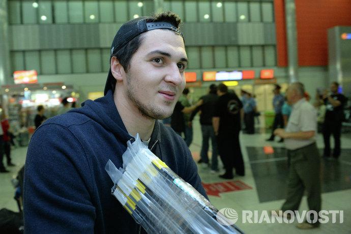 Защитник сборной России по хоккею Кирилл Петров